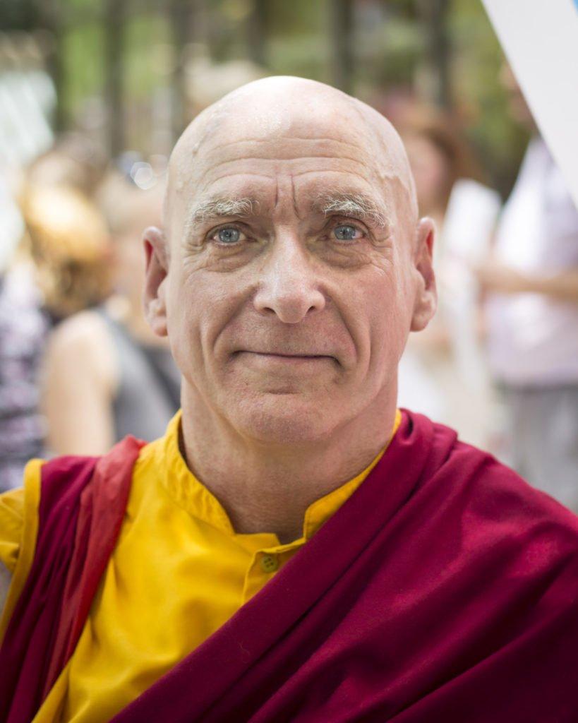 Portrait of a buddhist monk by Atlanta portrait photographer William Twitty.