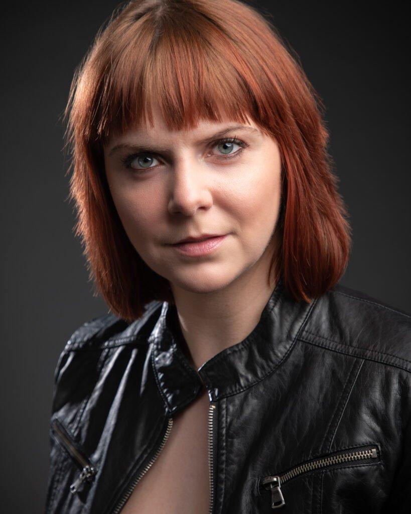 Portrait of an actress by Atlanta portrait photographer William Twitty.