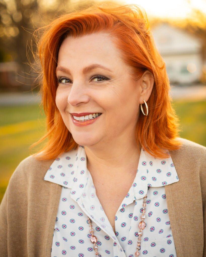 Portrait of a woman smiling by Atlanta portrait photographer William Twitty.