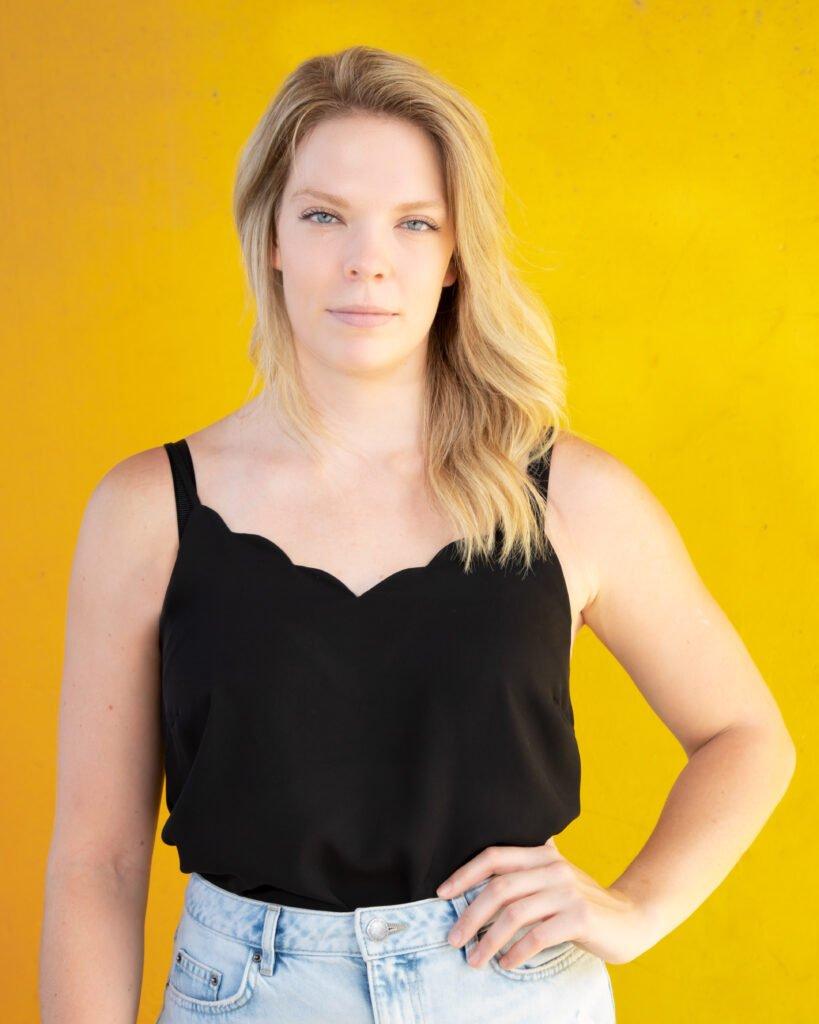 Photo of female entrepreneur by Atlanta portrait photographer William Twitty.