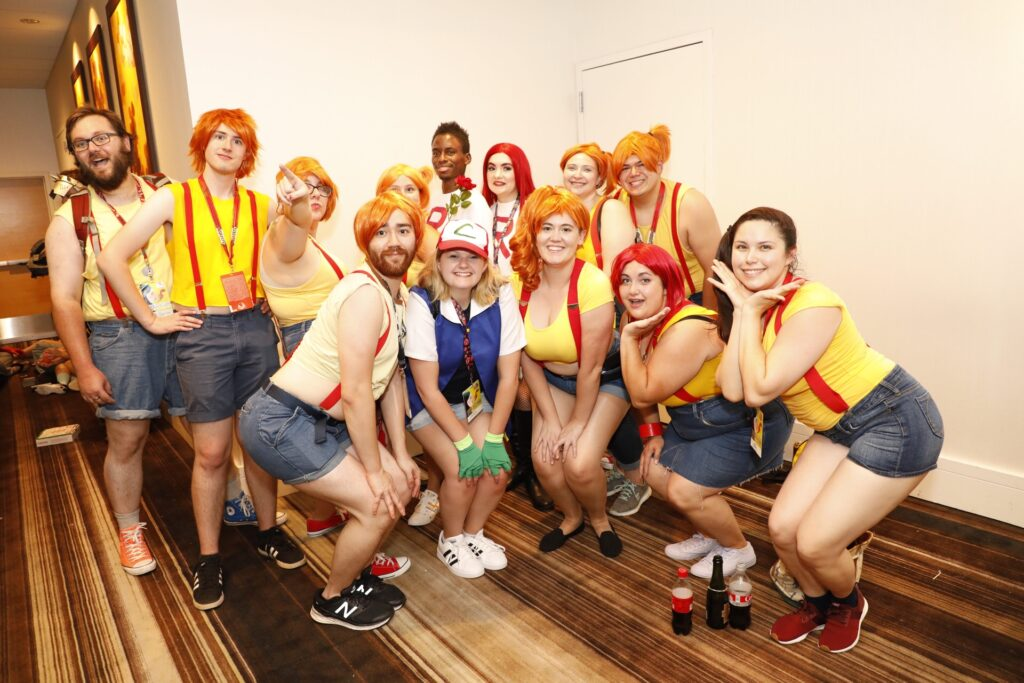 Photo of Pokemon's Misty cosplayers by Atlanta event photographer William Twitty.