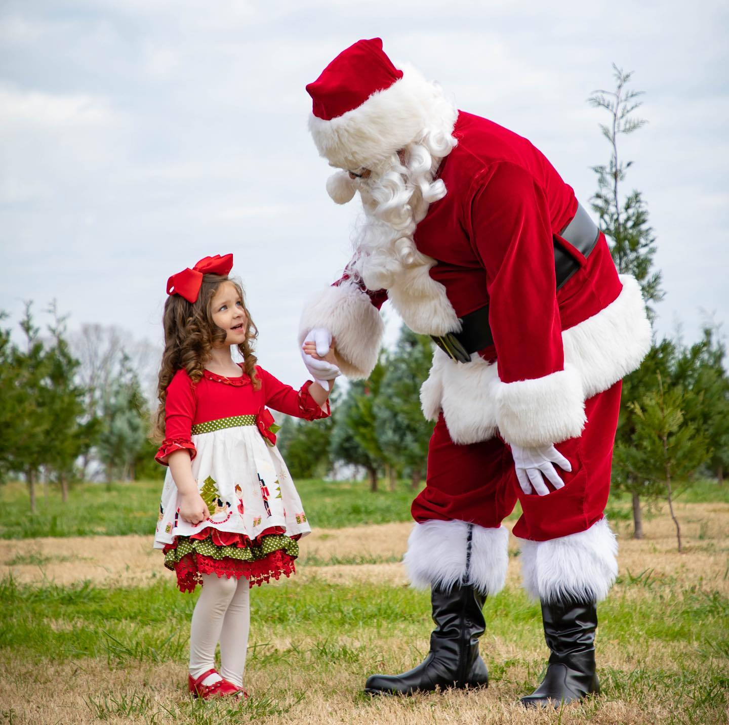santa clause photos by William Twitty Photography Atlanta photographer